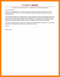 4 Parts Of A Cover Letter Students Resume