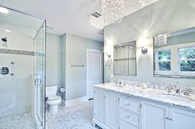 white and gray bathroom ideas. Excellent Awesome Chandelier Lighting Fixtures Blue And Grey Bathroom Ideas With Regard To . White Gray