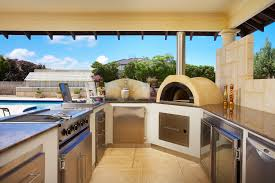 Best Of Modern Outdoor Kitchen With Pool Orchidlagooncom - Modern outdoor kitchens