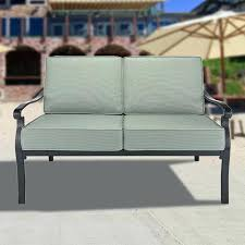 patio loveseat cushions conservatory love seat replacement cushion set beige wicker patio furniture without cushions