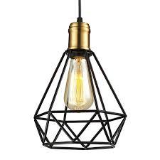 ikea pendant lighting. Wrought Iron Chandeliers Pendant Lamps IKEA Living Room Lampada Industrial Classic Home Metal Cage LED Lighting Ikea A