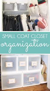 coat closet storage small coat closet organizing ideas