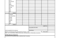 Business Travel Expense Report Sample And Business Travel Expenses ...