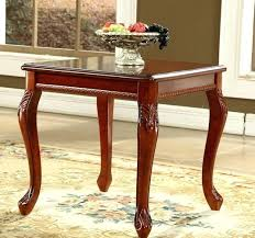style solid wood coffee table square corner retro side modern small tables in from furniture on large square wood coffee table