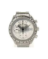 reebonz your world of luxury omega men s auth omega speedmaster date watch 3513 30 stainless steel automatic men reebonz