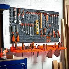 tool organizer wall wall mounted tool organizer piece wall mounted plastic pegboard and shelf tool organizer