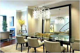 Large Mirror Dining Room Mirrors Typical Modern For Liveable 4