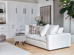 Furniture ideas for living room White Boho Living Room With Haven Sofa Hgtvcom Living Room Ideas Decor Living Spaces