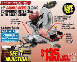 harbor freight miter saw. harbor freight tools - 12\ miter saw