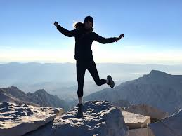 Image result for standing at the top of mount whitney