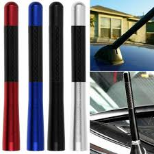 Volkswagen Car With Screw Light Us 2 74 41 Off Car Radio Antenna Universal Carbon Fiber Screw On Short Car Radio Antenna For Vw Auto Accessories Auto Exterior Parts In Aerials From