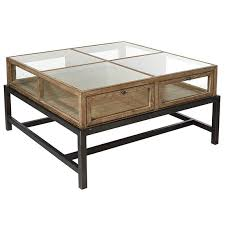 huxley coffee table display coffee