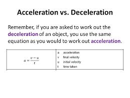 equation for deceleration jennarocca