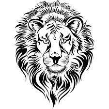 lion face black and white clipart.  Clipart Roaring Lion Head Clip Art  Clipart Panda  Free Images Inside Face Black And White D