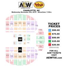 Bojangles Arena Seating Chart Aewontnt Charlotte Ticket Prices Seating Chart Squaredcircle