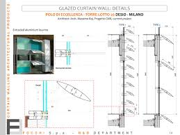 glazed curtain wall details 1 1 pages