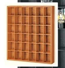 wooden shot glass collector display wall shelf man cave golf ball curio wood holder wooden shot glass
