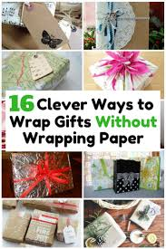 if you are in a rush and no available gift wrapper be creative and innovative