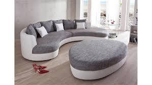 Wohnlandschaft Limoncello Sofa Polstermöbel In Weiß Grau