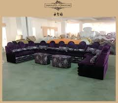 U Shaped Couch Living Room Furniture Living Room Arabic Style U Shape Purple Corner Sofa Setsktv Sofa