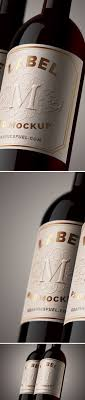 wine packaging template free wine bottle label psd mockup wine bottle labels mockup and
