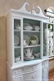stylish design painted china cabinet amusing white cabinets