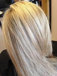 warm blonde lowlight hairstyle