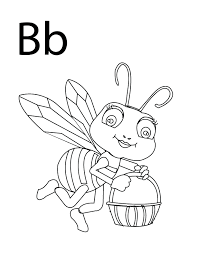 Coloring Pages - Letter-B