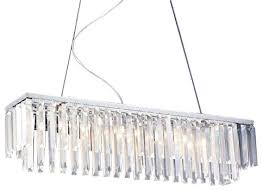 linear crystal chandelier. Modern Contemporary Linear Chandelier With Crystals Crystal D
