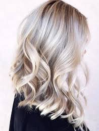 short grey hair with blonde highlights