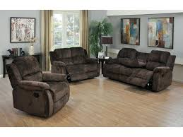 recliner sofas and loveseats 3 piece chocolate chenille reclining sofa and reclining chair reclining sofa and