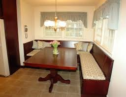 kitchen table with built in bench. Built In Bench Seating Kitchen Cabinet With Cushioned Seat Beautiful Frightening File . Table