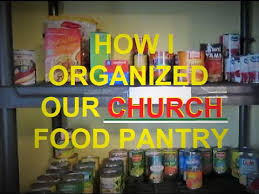 How I Organized Our Church Food Pantry Youtube