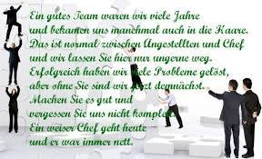 Dankeschön Brief Geschäftlich Image Sprüche Abschied Chef Nett