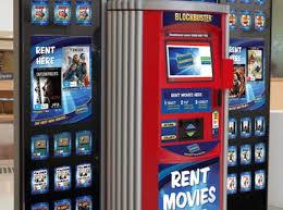 Blockbuster Vending Machines Delectable Digital Focus For DVD Brands Inside Retail