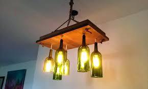 wine bottle light fixtures wine bottle chandelier wine bottle light fixtures diy wine bottle