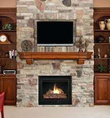 stone fireplace wall with tv electric fireplace and brick wall modern electric fireplace stand with wooden