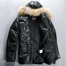 down filled jackets for men down filled leather bubble jacket black sheepskin genuine leather jacket zip down filled jackets for men