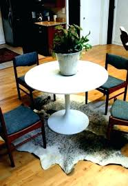 rug size for dining table round dining table rug dining room rug size round dining table