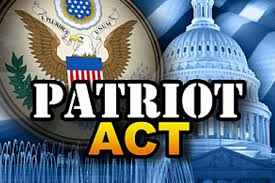 Image result for patriot act signed by president george w. bush in 2001
