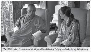UN Resident Coordinator, Ms. Christina Carlson called on Lyonchhen – The  Bhutanese
