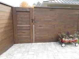 horizontal wood fence gate. Custom Cedar Horizontal Privacy Fence With Gate In Grand Rapids, Michigan Wood