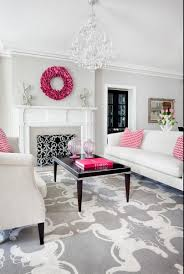 grey and pink living room. fancy hot pink living room accessories 57 on with grey and