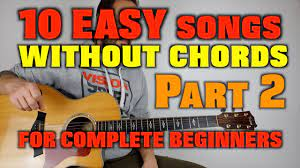 Beginner guitar songs, easy songs to play on guitar, acoustic guitar songs. 10 Easy Songs Without Chords For Beginners Part 2 Youtube