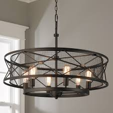 lighting cage. X-Cage Urban Chandelier - 6-Light Oil_rubbed_bronze Lighting Cage