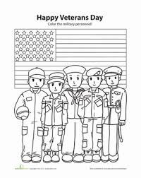 Small Picture Happy Veterans Day Worksheet Educationcom