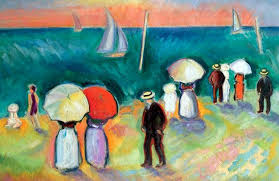 raoul dufy 1877 1953 french fauvist painter broad brushstrokes and bright colours
