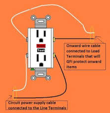 gfi electrical wiring done right extending circuit gfi protection on onward outlets