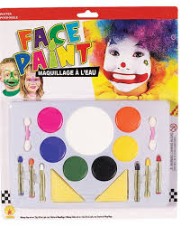 face paint makeup kit by rubies