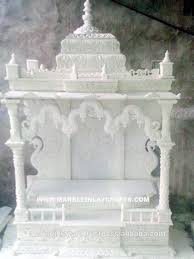 carved marble indoor temple beautiful stone home decoration mandir